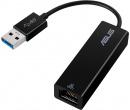 Сетевой адаптер ASUS OH102 , USB to RJ-45, 1000 Мбит/с, Черный 90XB05WN-MCA010