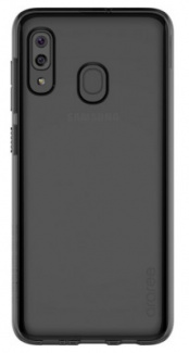 Чехол-накладка Araree A Cover для смартфона Samsung Galaxy A20, Термополиуретан, Black, Черный, GP-FPA205KDABR