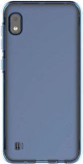 Чехол-накладка Araree A Cover для смартфона Samsung Galaxy A10, Термополиуретан, Blue, Синий, GP-FPA105KDALR