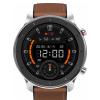 Смарт-часы Amazfit GTR 47mm A1902, BT, 410 мАч, GPS, Серебристый/Коричневый 6970100372342