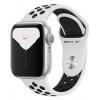 Смарт-часы Apple Watch Nike Series 5 Aluminium Case 40mm, Silver, Серебристый (Спортивный ремешок