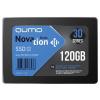 """Внутренний SSD-накопитель Qumo Novation 120GB 2,5"""" SATA-III, 3D TLC, Черный Q3DT-120GPBN"""