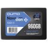 """Внутренний SSD-накопитель Qumo Novation 960GB 2,5"""" SATA-III, 3D TLC, Черный Q3DT-960GAEN"""