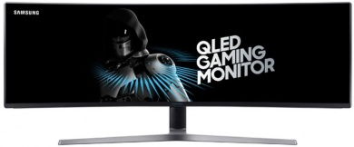 "Распродажа Монитор 48.9"" Samsung C49HG90DMI CURVED, VA, 3840x1080, 144Hz, 1ms, 350 cd/m2, 3000:1 (Mega DCR), HDMI*2, DP, miniDP, USB*2, HAS, Pivot, vesa"