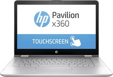 Распродажа HP Pavilion x360 14 i7-7500U 8Gb 1Tb + SSD 128Gb nV GT940MX 4Gb 14 FHD IPS TouchScreen(MLT) BT Cam 4400мАч Win10Pro Серый 14-ba022ur 1ZC91EA