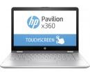 Распродажа (Пражская) HP Pavilion x360 14 i7-7500U 8Gb 1Tb + SSD 128Gb nV GT940MX 4Gb 14 FHD IPS TouchScreen(MLT) BT Cam 4400мАч Win10Pro Серый 14-ba022ur 1ZC91EA