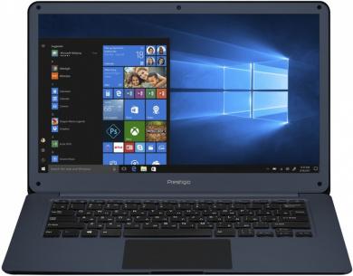 Распродажа (Пражская) Prestigio SmartBook 141C Z8350 2Gb SSD 32Gb Intel HD Graphics 400 14,1 FHD IPS BT Cam 9000мАч Темно-синий Win10 PSB141C01BFH_DB_CIS