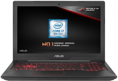 Распродажа ASUS FX504GE i7-8750H 12Gb 1Tb + SSD 128Gb nV GTX1050Ti 4Gb 15,6 FHD IPS BT Cam 3200мАч Win10 Серый FX504GE-E4419T 90NR00I3-M06640