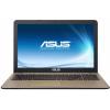 Распродажа (Дубровка) ASUS X540LA i3-5005U 4Gb 500Gb Intel HD Graphics 5500 15,6 FHD DVD(DL) BT Cam 2600мАч Endless OS Черный/Золотистый X540LA-DM1255 90NB0B01-M24400