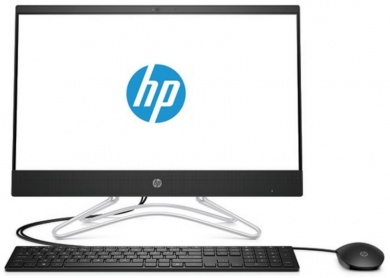 Распродажа AIO HP 24 PQC J5005 4Gb 1Tb Intel UHD Graphics 605 23,8 FHD IPS BT Cam Win10 Черный 24-f0020ur 4HD03EA