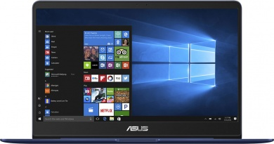 Распродажа (Пражская) ASUS Zenbook UX3400UA i7-7500U 16Gb SSD 512Gb Intel HD Graphics 620 14 FHD IPS BT Cam 3700мАч Win10 Синий UX3400UA-GV538T 90NB0EC5-M13020