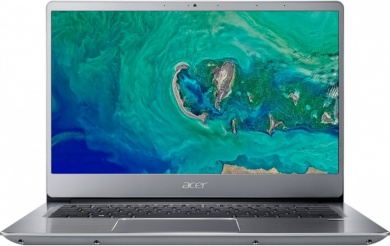 Распродажа Acer Swift SF314-54G i5-8250U 8Gb SSD 256Gb nV MX150 2Gb 14 FHD IPS BT Cam 3220мАч Linux Серебристый SF314-54G-5201 NX.GY0ER.005
