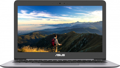 Распродажа (Пражская) ASUS Zenbook U310UA i3-7100U 4Gb SSD 256Gb Intel HD Graphics 620 13,3 FHD IPS BT Cam 3700мАч Win10 Серый(Quartz Grey) U310UA-FC598T 90NB0CJ1-M17870