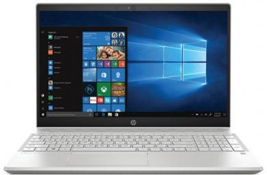Распродажа HP Pavilion 15 i7-8565U 12Gb SSD 256Gb nV GTX1050Ti 4Gb в дизайне MAX-Q 15,6 FHD IPS BT Cam 3630мАч Win10 Серый/Серебристый 15-cs1005ur 5CT90EA