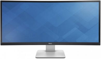 "Распродажа (Пражская) Монитор 34"" Dell U3415W 3440x1440 (21:9)/TFT IPS/5ms/DP, miniDP, HDMI, MHL, USBhub, 9Wx2"