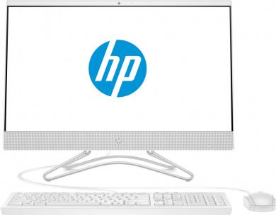 Распродажа (Дубровка) AIO HP 24 i5-8250U 8Gb 1Tb + SSD 128Gb Intel UHD Graphics 620 23,8 FHD IPS BT Cam Win10 Белый 24-f0042ur 4GT06EA