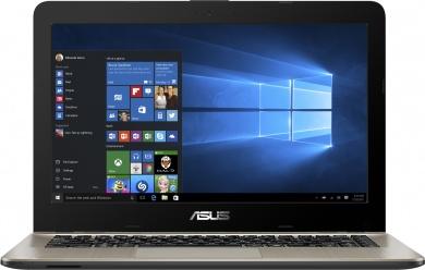 Распродажа ASUS VivoBook X441BA A6-9220 4Gb 1Tb AMD Radeon R4 series 14 HD DVD(DL) BT Cam 3650мАч Win10 Черный/Золотистый X441BA-GA114T 90NB0I01-M02280