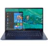 Распродажа (Дубровка) Acer Swift SF515-51T i5-8265U 8Gb SSD 256Gb Intel UHD Graphics 620 15,6 FHD IPS (TS MLT) BT Cam 4670мАч Win10 Синий SF515-51T-59ZN NX.H69ER.002